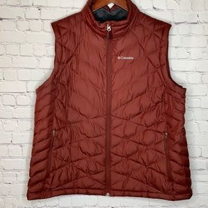 Columbia Omni Heat Puffer Vest With Pockets 2X